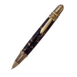 Knights Armor Twist Pen Kit - Antique Brass