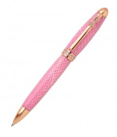 Breast Cancer Awareness Pen Kit (PSI)  - Rose Gold w/ Pink Crystals