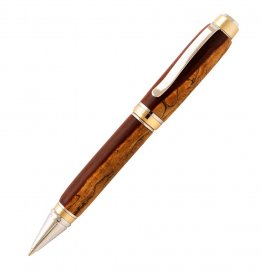 Big Ben Cigar Pen Kit - 24KT Gold & Chrome Two Tone
