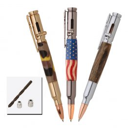 3 Bolt Action Pen Kit (30 Cal) Starter Pack