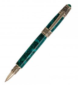 Celtic Rollerball Pen Kit - Antique Pewter