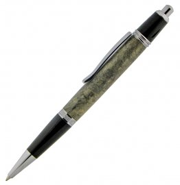 Sierra Button Click Pen Kit - Platinum