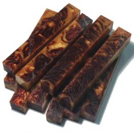 Amber Waves Rhino Plastic Pen Blanks