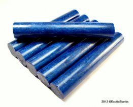 Stardust Pen Blanks - Blue Lagoon