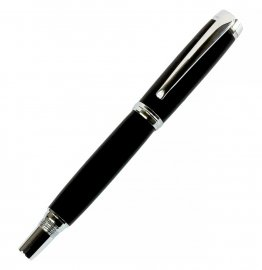 Caballero Rollerball Pen Kit - Chrome & Chrome