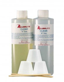 Alumilite Clear Casting Resin - 1 lb Kit