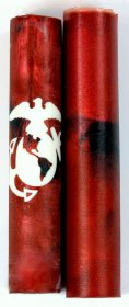 Armed Forces Rotacrylic Pen Blank - Marines (Red) pen blank