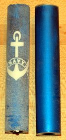 Navy Rotacrylic Pen Blank