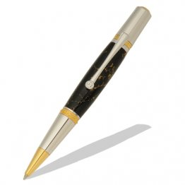 Majestic Squire Twist Pen Kit - Gold TN & Chrome