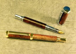 Rinehart Fountain Pen Kit - Ti Gold