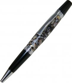 Le Roi Elegant Pen Kit V2 - Chrome & Black Chrome