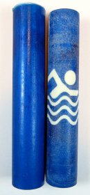 Swimmer Rotacrylic pen blank