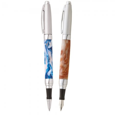 Presimo Rollerball Pen Kit - Satin Chrome Cap 2