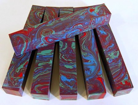 Color Explosion Pen Blanks #04 - Jewel-Tone Jive