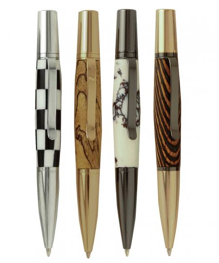 Bella Ballpoint Twist Pen Kits - 4 Pen Starter Set