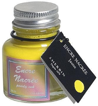 Pearlescent Ink - Jaune (Yellow)