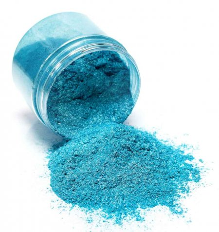 Black Diamond Pigments - Turquoise Diamond Effect. Alt 1