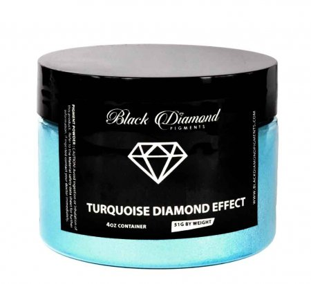 Black Diamond Pigments - Turquoise Diamond Effect Jar