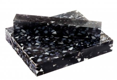 Black Granite Acrylic Pen Blank. Group