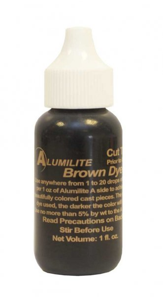 Alumilite Dye - 1oz Brown