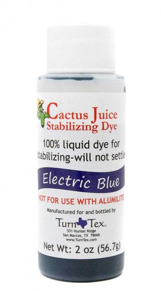 Cactus Juice Stabilizing Dye - Electric Blue 2oz