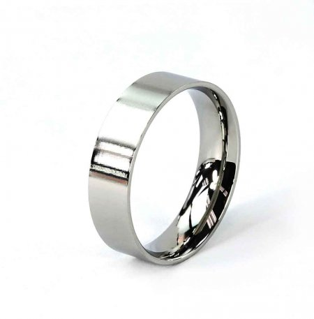 Comfort Ring Core - Stainless Steel - 6mm. Size 10 Alt