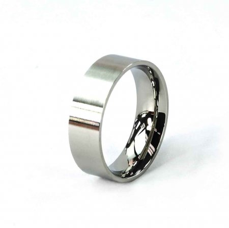 Comfort Ring Core - Stainless Steel - 6mm. Size 6 Alt