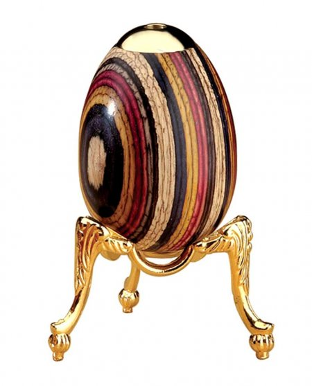 "Eggoscope Kaleidoscope Stand - 1 1/2"" High 24K Gold Plated"