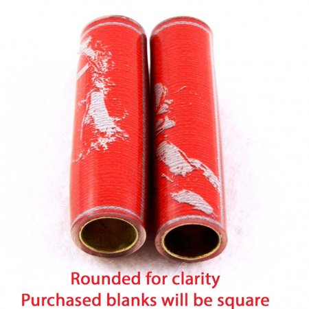 Football Pen Blank #03 - Red & Grey. 4