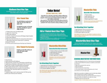 GluBoost Instructions Page 2