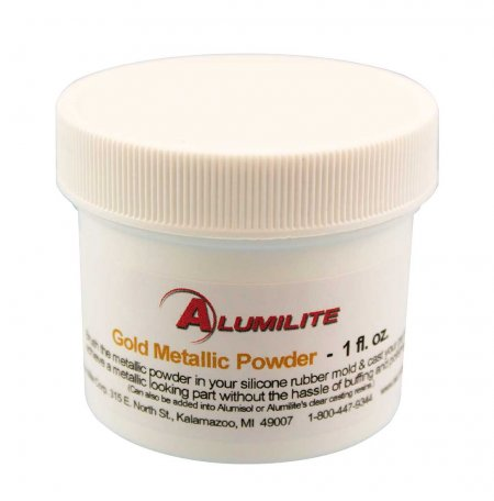 Alumilite Metallic Powder - Gold