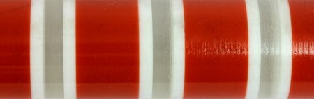 Hoops & Loops Acrylic Rod Poppy - Please Choose Length close up