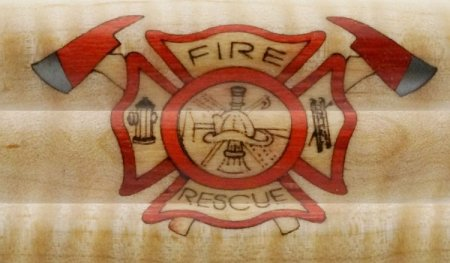 Fire and Rescue Logo Inlay Kit