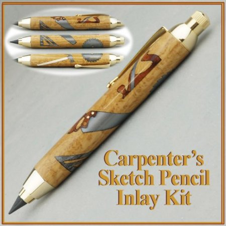 Carpenters Inlay Kit - Berea Sketch Pencil