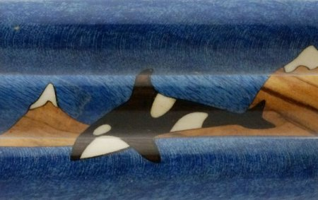 Killer Whale/Orca Inlay Kit