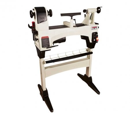 JET 1221 Electronic Variable Speed Midi Wood Lathe with stand
