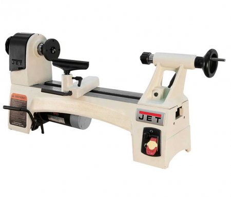 JET 1015 Electronic Variable Speed Mini Wood Lathe