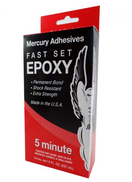 Mercury Adhesives Epoxy - 5 min