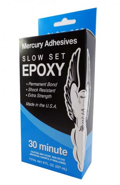 Mercury Adhesives Epoxy - 30 min