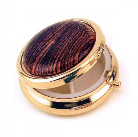 Mini Pill Box Kit - 24kt Gold
