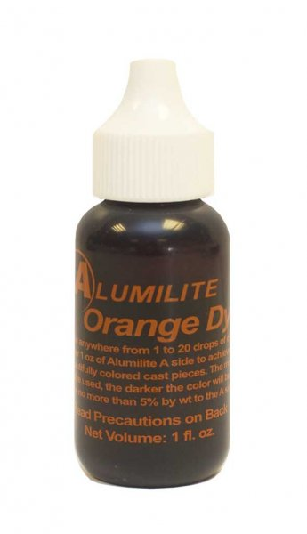 Alumilite Dye - 1oz Orange