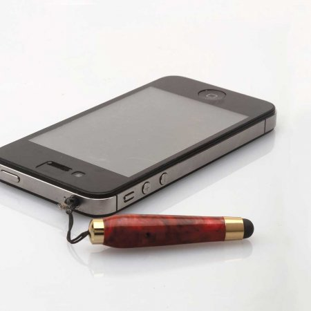 Mini Touch Stylus with Plug - Chrome (PSI)