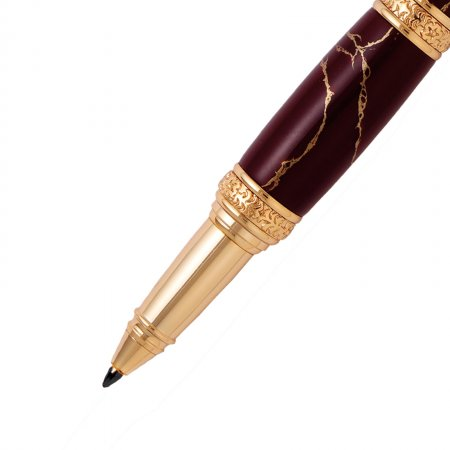 Victorian Twist Pen Kit - 24K Gold nib detail