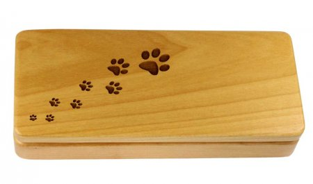 Paws Laser Engraved Maple Pen Gift Box