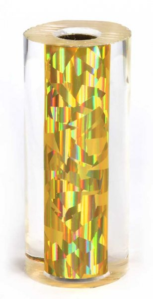 John's Gold Prism Pen Blanks - Sierra Pen Kits