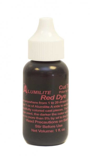 Alumilite Dye - 1oz Red