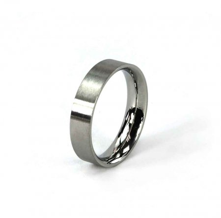 Comfort Ring Core - Stainless Steel - 4mm Size 4
