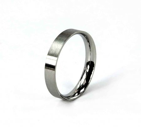 Comfort Ring Core - Stainless Steel - 4mm Size 10