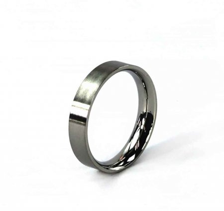 Comfort Ring Core - Stainless Steel - 4mm Size 6