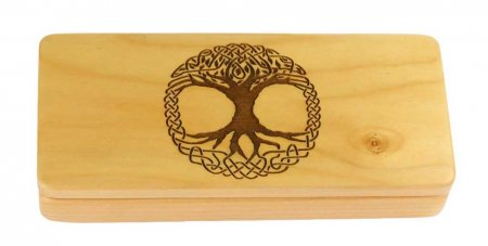 Tree of Life Engraved Pen Gift Box